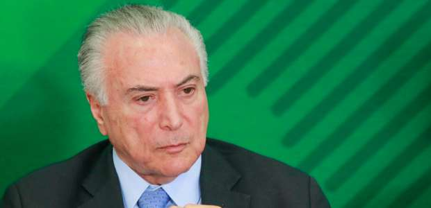 PF pede indiciamento e bloqueio de bens de Michel Temer