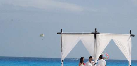 Casamento em Cancun é opção para cerimônia intimista