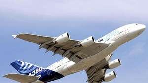 París y México, unidos por el avión más grande del mundo