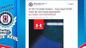 Cruz Azul hace oficial cambio de marca de ropa