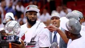 Heat destroza a los Pacers y avanza a Las Finales de la NBA