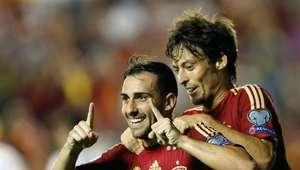 La 'nueva Roja' recupera el olfato de gol ante Macedonia