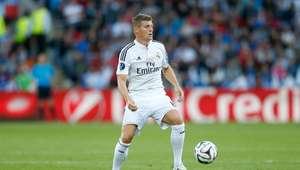 Toni Kroos se lesiona en el partido contra el Valencia