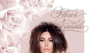 Kim Kardashian lança perfume inspirado em rosas