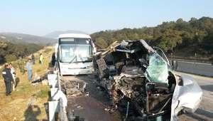 Accidente de autobús en carretera a Guadalajara deja 21 ...