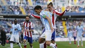 El Málaga frena la racha de victorias del Atlético de Madrid