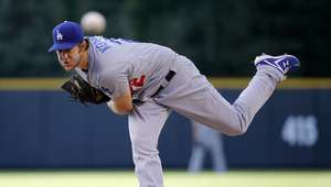 Kershaw tiene noche mágica con los Dodgers