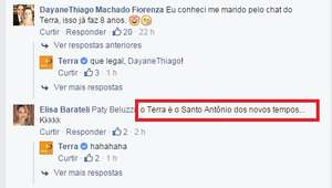 """""""Santo Antônio dos novos tempos""""? Casais agradecem ao Terra"""