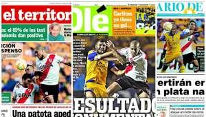 Diarios argentinos destacan el empate de River ante Tigres