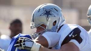 Jugadores de Cowboys y Rams se pelean en entrenamiento