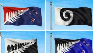 Nueva Zelanda ya tiene 4 diseños para cambiar su bandera