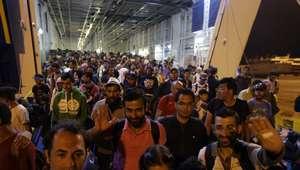 ¿Qué países y ciudades europeas están recibiendo refugiados?