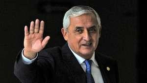 Dimite Otto Pérez Molina, acusado de corrupción