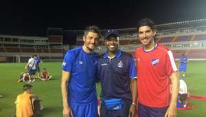 Nacional entrena en Panamá pensando en Independiente