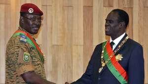Liberan al presidente de Burkina Faso retenido por militares