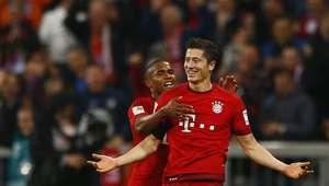 ¡El show de Lewandowski! Cinco goles en 9 minutos por Bayern