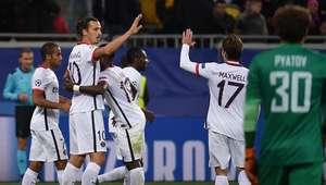 PSG sale 'filoso' y golea 3-0 en Ucrania al Shakhtar Donetsk