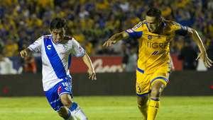 Puebla sorprende a Tigres y lo derrota 1-0 en su casa