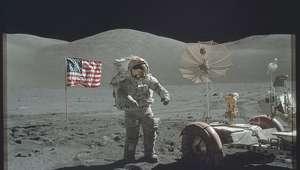 La NASA da a conocer fotos de las misiones a la Luna
