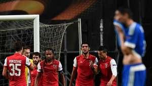 Braga vence sobre la hora al Marsella en Europa League