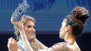 Mireia Lalaguna se corona como Miss World Spain 2015