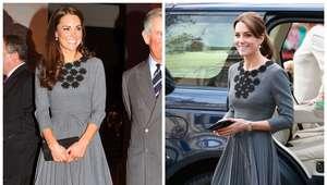 Reciclar é fashion: Kate Middleton repete look de 2012