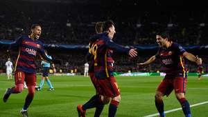 El Barcelona no tuvo piedad de la Roma en Champions