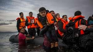 Mueren ahogados seis niños frente a las costas de Turquía