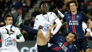 PSG vence al Troyes en medio fuertes medidas de seguridad