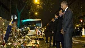 Obama homenajea a víctimas del ataque en Bataclan en París