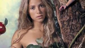 Shakira recuerda desnudo del disco 'Oral Fixation, Vol. 2'