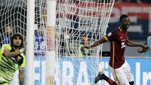 Roma pone fin a su racha sin triunfos al vencer 2-0 al Genoa