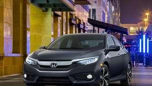 El Civic 2016 recibe la nota más alta en seguridad del IIHS