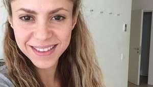 Shakira no necesita maquillaje para lucir bella