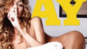 Primera mujer transgénero posa para Playboy