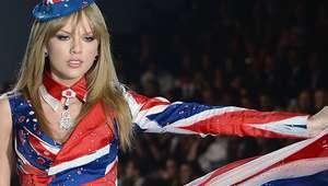 Prendas inspiradas por la bandera del Reino Unido