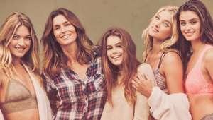 La hija de Cindy Crawford y su primer contrato como modelo