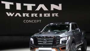 Nissan TITAN Warrior Concept, imponente y futurista