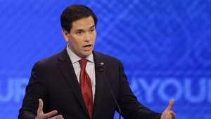 Rubio, asediado en debate republicano tras subir en sondeos