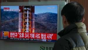 Coreia do Norte lança foguete de longo alcance, diz agência