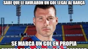 Los mejores memes del partido entre Levante - Barcelona
