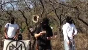VIDEO: Nuevo grupo armado, IRIS en Michoacán