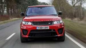 Range Rover SVR é SUV que chega aos 100 km/h em 5s