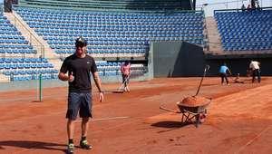Court Central se alista para regreso de Copa Davis