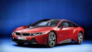BMW presenta el BMW i8 Protonic Red Edition en Ginebra