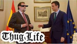 Los mejores memes por la 'cobra' de Rajoy a Pedro Sánchez