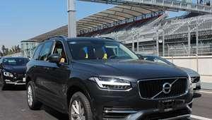 Volvo Cars presume su gama en el Hermanos Rodríguez