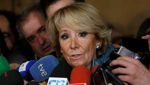Esperanza Aguirre presenta su dimisión en el PP de Madrid