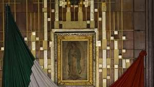 Francisco se encuentra con la venerada Guadalupe en México