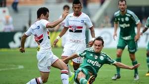 Palmeiras vence São Paulo e ganha moral para a Libertadores